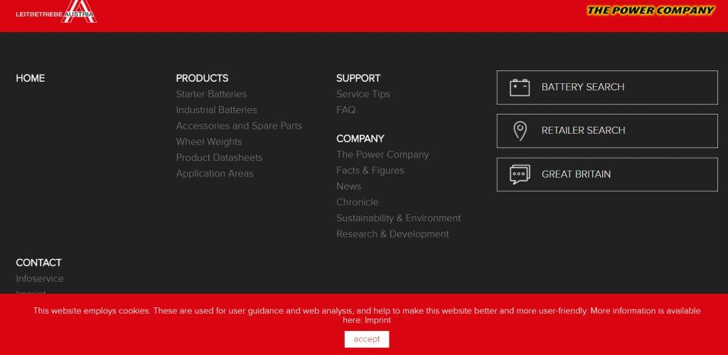 Linking to retailer websites